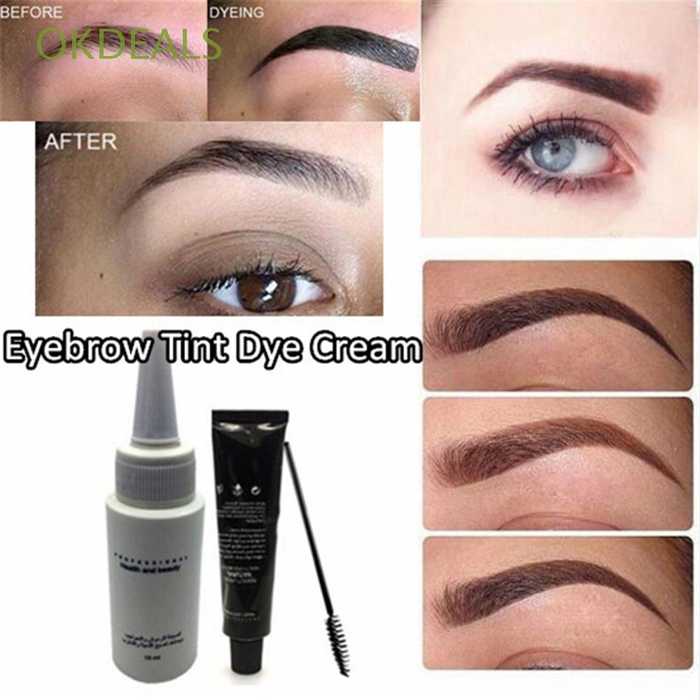 ea5dacad33a MENOW 3 Colors Tint Eyebrow Enhancer Cream Eye Makeup Eyebrow Tattoo  Waterproof | Shopee Malaysia