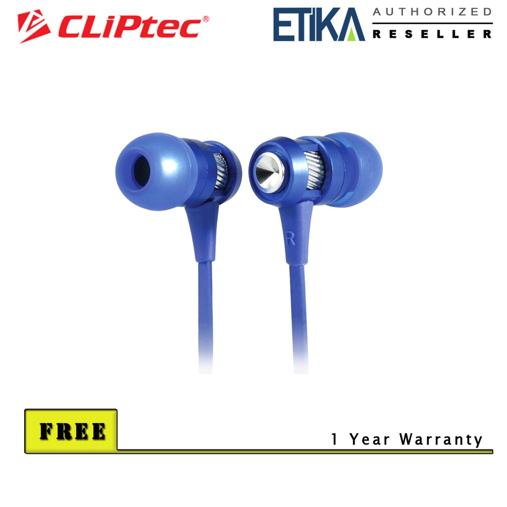 Red CLiPtec® BMH834 URBAN ROXX Dynamic Stereo Multimedia Over Ear Headset
