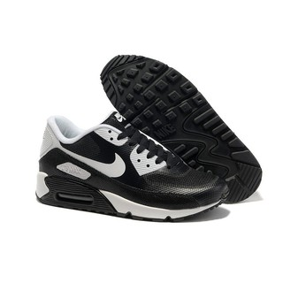 Mens Nike Air Max 90 Hyperfuse BlackWhite Running Shoes 333888 787