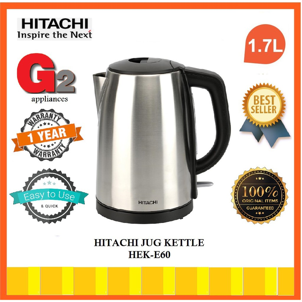 HITACHI ELECTRIC KETTLE HEK-E60