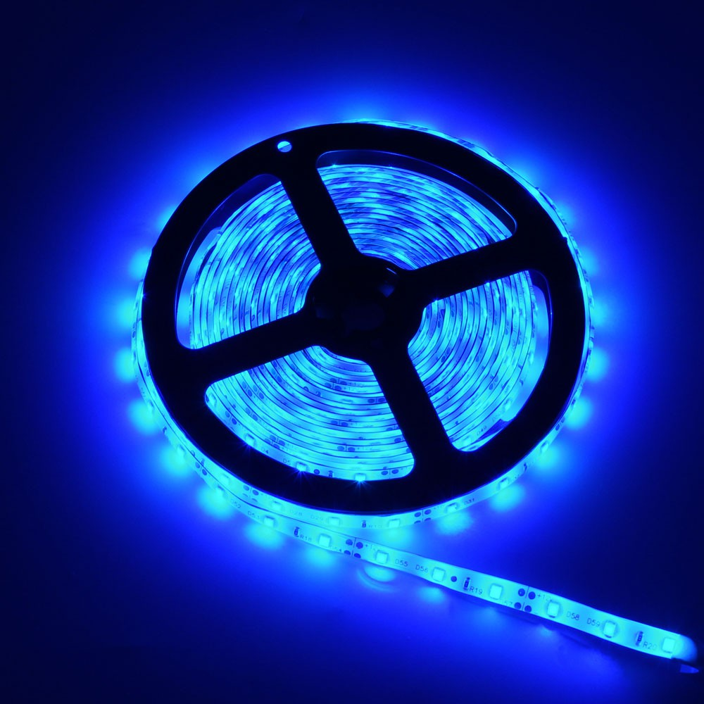 5M Boat Accent Green 3528 SMD Waterproof 300 LED Strip Flexible Light 12V String