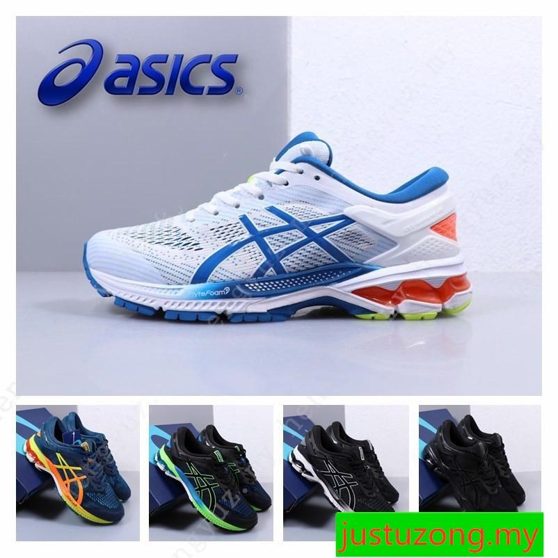 2021 New Original ASICS GEL-KAYANO 26 Men Professional Cushioning Running shoes 40-45 [Ready stock]