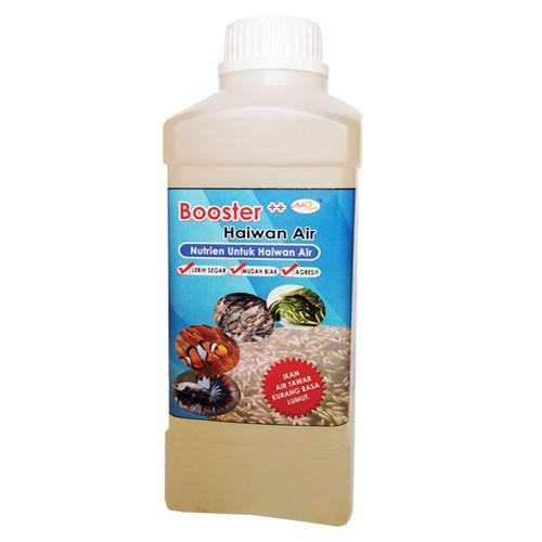 AzfaRich Nutrien Untuk Haiwan Air - Booster Ternakan Air, 1 Liter