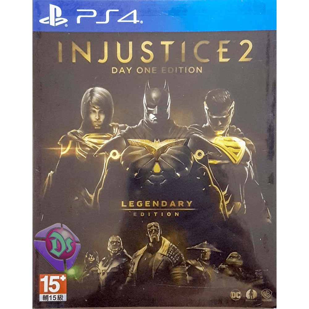 New Ps4 Injustice 2 Legendary Edition R3 Eng Steelbook Limited Region 3 Shopee Malaysia