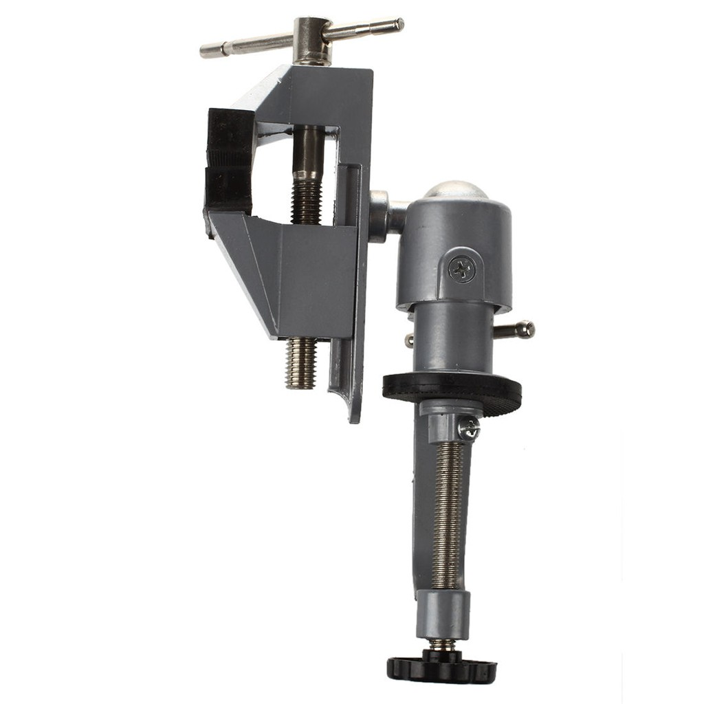 Mini Clamp-On Table Bench Jewellers Hobby Craft Vice Rotated Repair Tool