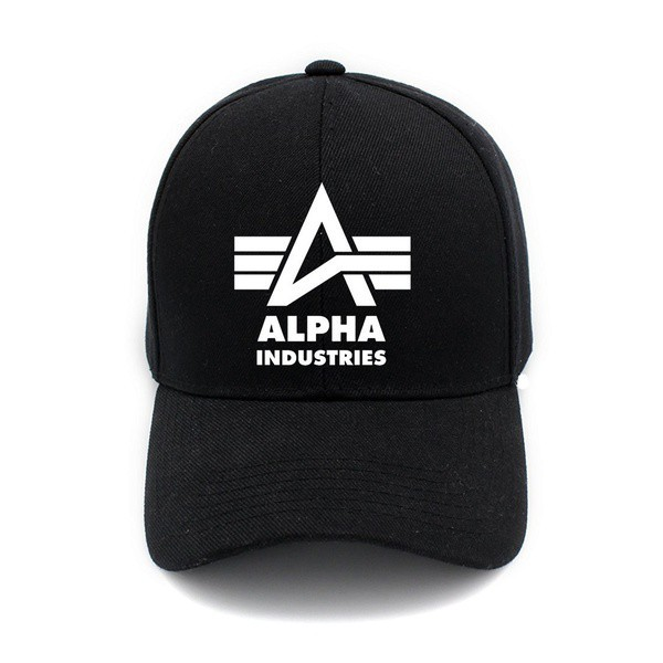 buy popular 218b7 44f5d American Alpha Industries Print Hat Cap Unisex Men Women Cotton Cap  Baseball Cap