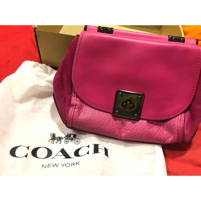 Coach Fuschia Handbag Preloved Sho