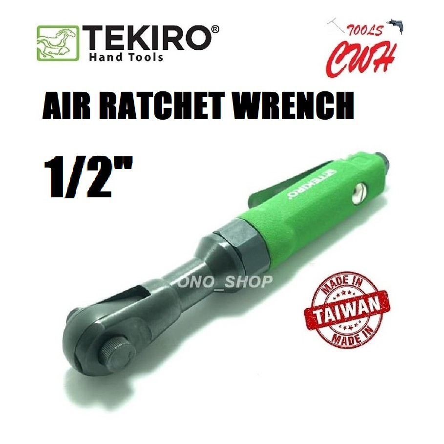 "TEKIRO TAIWAN AT-AR1798 AIR RATCHET WRENCH 1/2"" TEKIRO MADE IN TAIWAN AIR RATCHET WRENCH 1/2"""