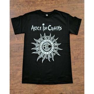 Alice In Chains Rainier Fog Alternative Metal Rock Band Men/'s Black T-Shirt