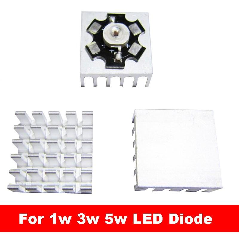 White//Warm White LED 60 X 120mm Heat Sink for 1W 3W 5W 10W 20W RGB