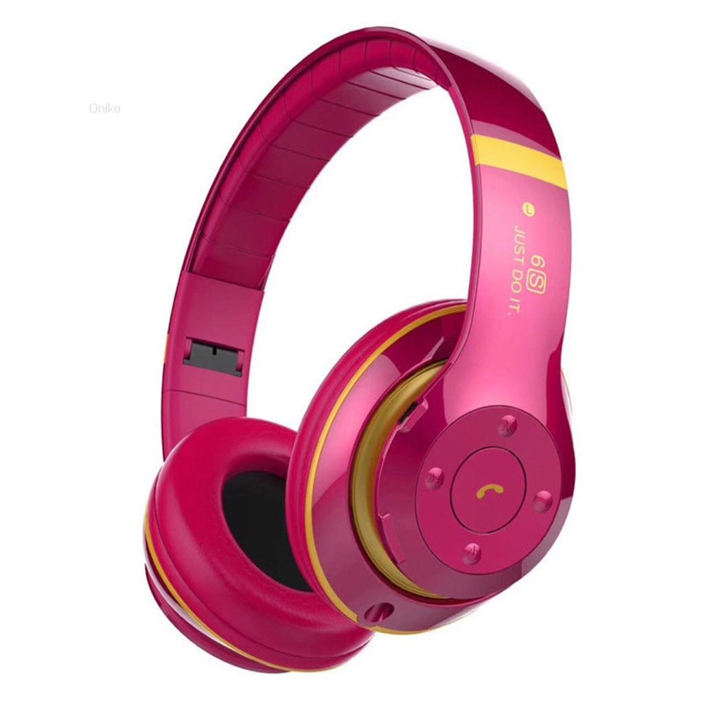 eaeb1176843 ProductImage. ProductImage. 💗Oniko💗Foldable Wireless Bluetooth Headset  Headphone Stereo Earphone Noise Cancelling