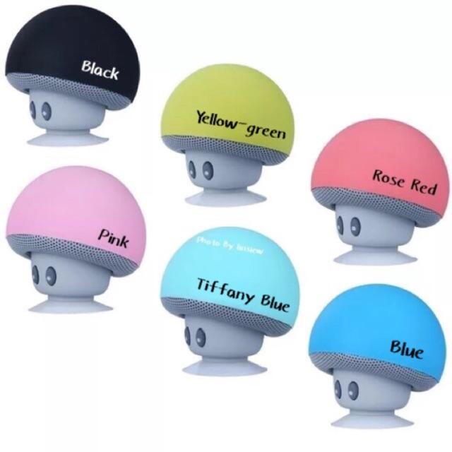 Cute 🍄 Mushroom Mini Bluetooth Wireless Speaker Stand