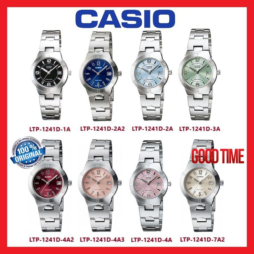 2 Years Warranty Casio Original Ltp V006d Series Analog Ladies Jam Tangan Wanita Aw 48he 1avdf Watch Shopee Malaysia