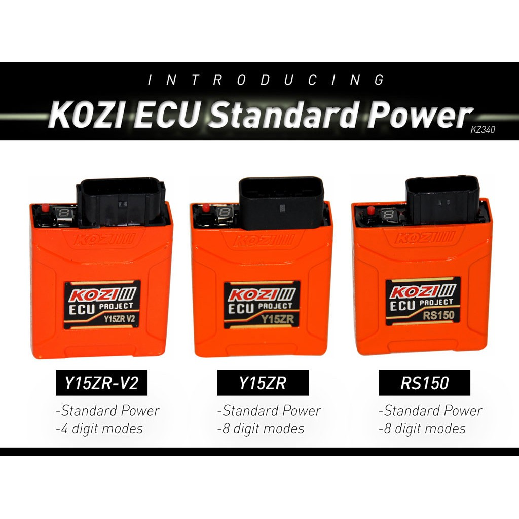 KOZI ECU STD Power Digit Adjustable Y15ZR Y15ZR V2 RS150
