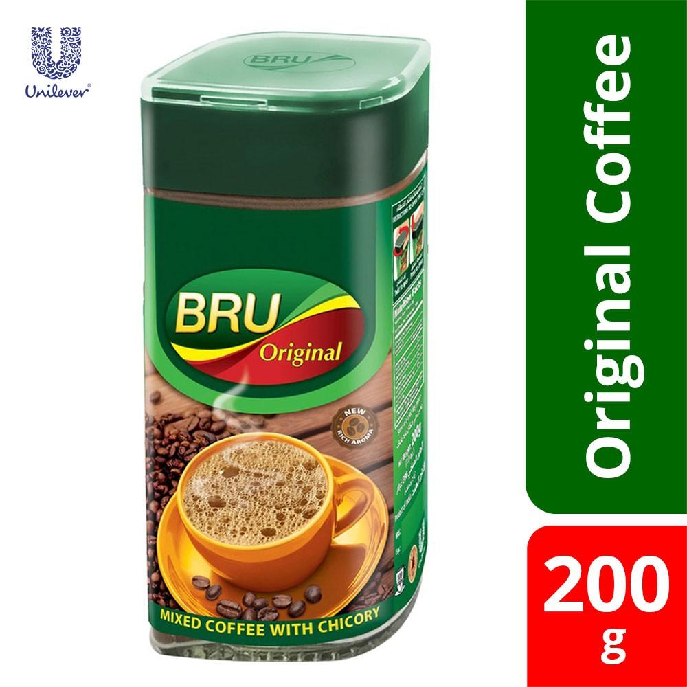 Bru Coffee Original Bottle 200gm