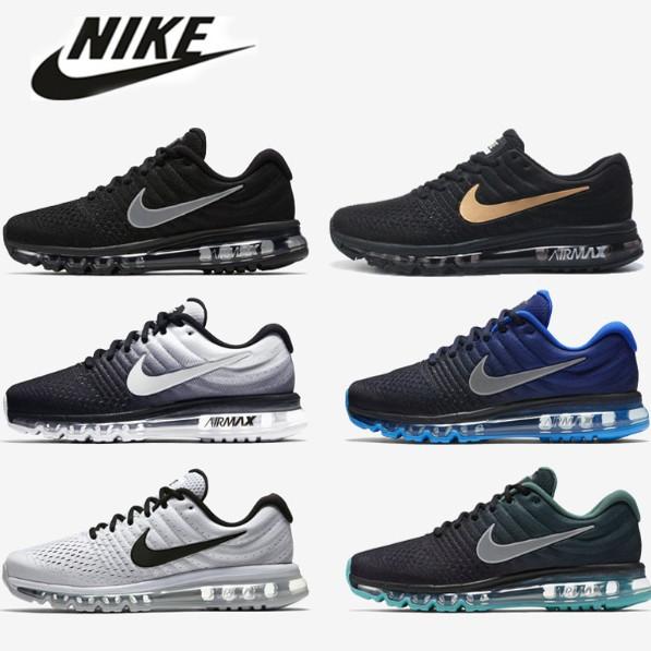 Original Nike Air Max 2017 Sports Running Shoes MenWomen Sneakers Size 36 47