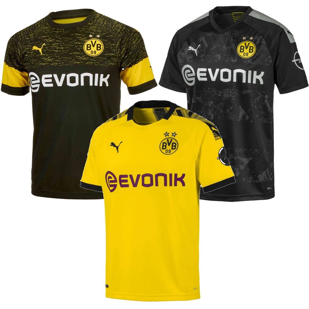 new product d0fa3 e061b Borussia Dortmund Home/Away Jersey 2019-20 2018-19 fan issues top quality