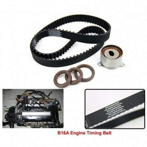 For Honda Civic Si 99-00 1.6L B16A2 Timing Belt Tensioner Water Pump Seals Kit