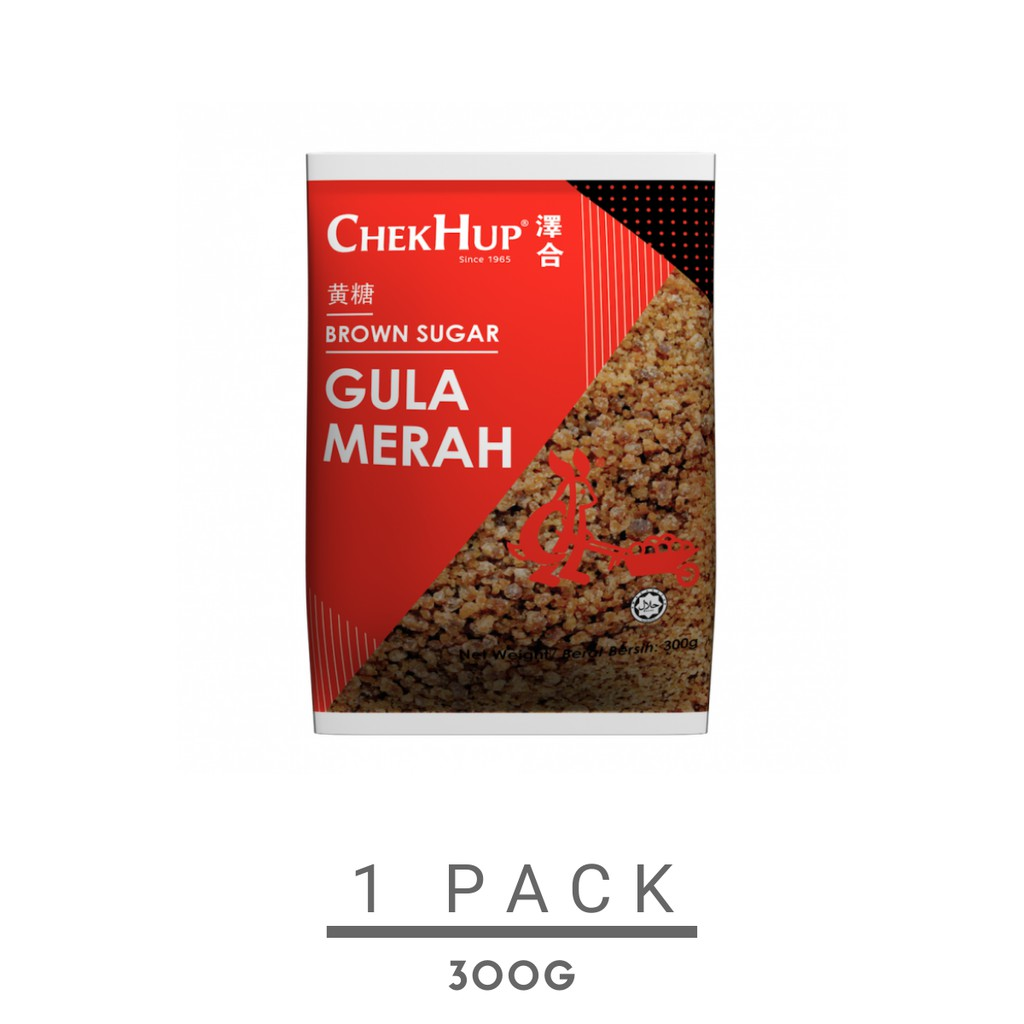 Chek Hup Brown Sugar (300g)