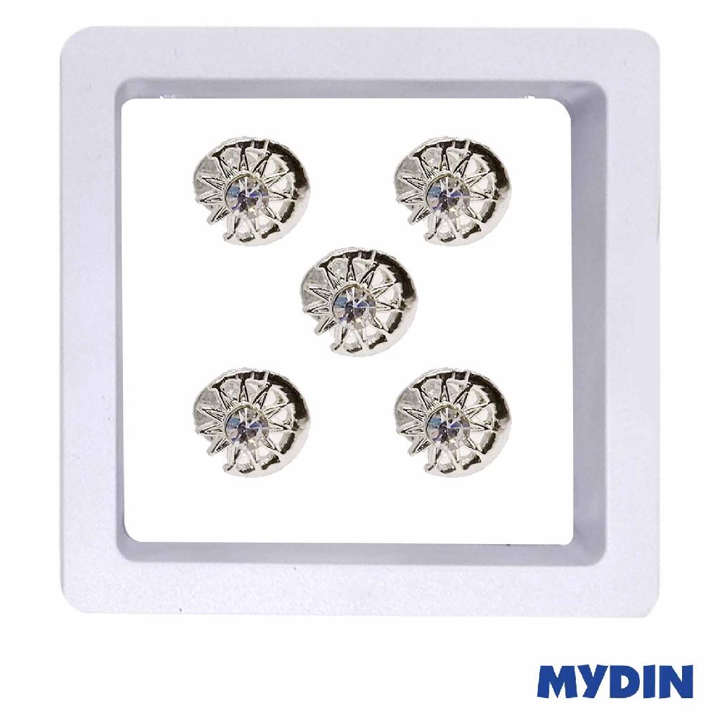 Armaan Button Bulan Bintang Small JP33BBSR790 (5pcs) #Raya