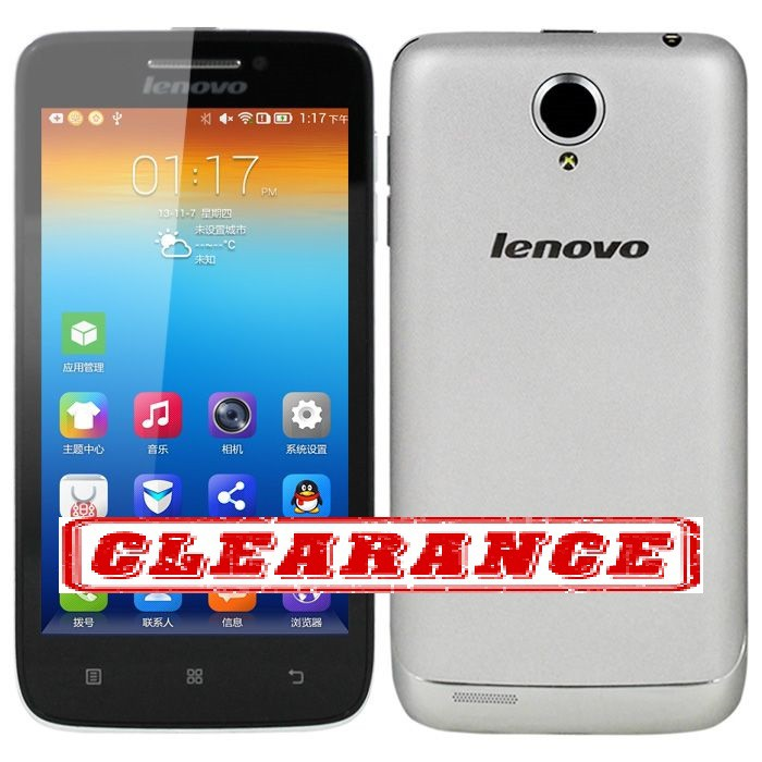 Clearance - Lenovo S650 Silver(New Original Set)