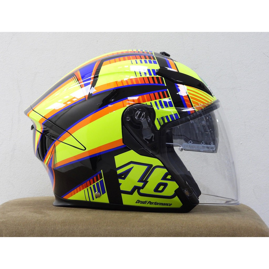 Agv K5 Jet Soleluna Helmet Shopee Malaysia