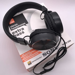 Sony Headphones Extra Bass MDR- 388   Shopee Malaysia