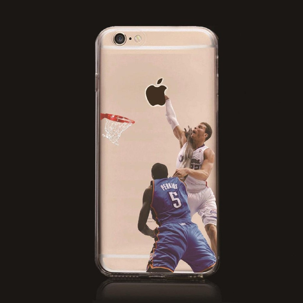f84cd6c4907c0 Blake Griffin Los Angeles Basketball Clear Ultrathin Shockproof Soft TPU  Phone Case Cover