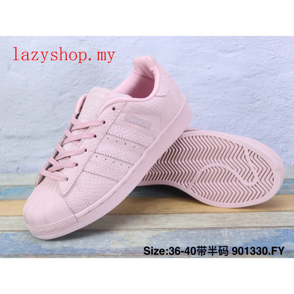adidas superstar low sneaker white size 40
