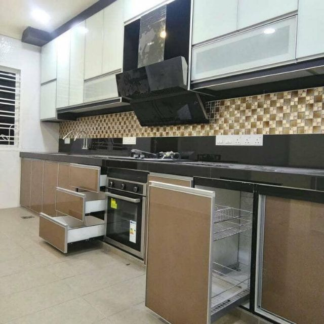 Kabinet Dapur Johor Simple Murah