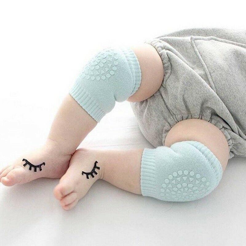 Baby Knee Protective Pads Safety Crawl Anti-Slip Infant Toddler Leg Cushion 81