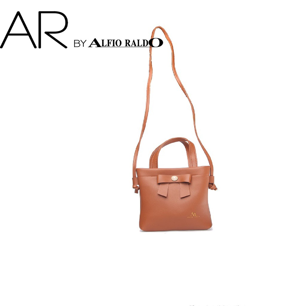 AR by Alfio Raldo Elegant Ribbon Sling Bag