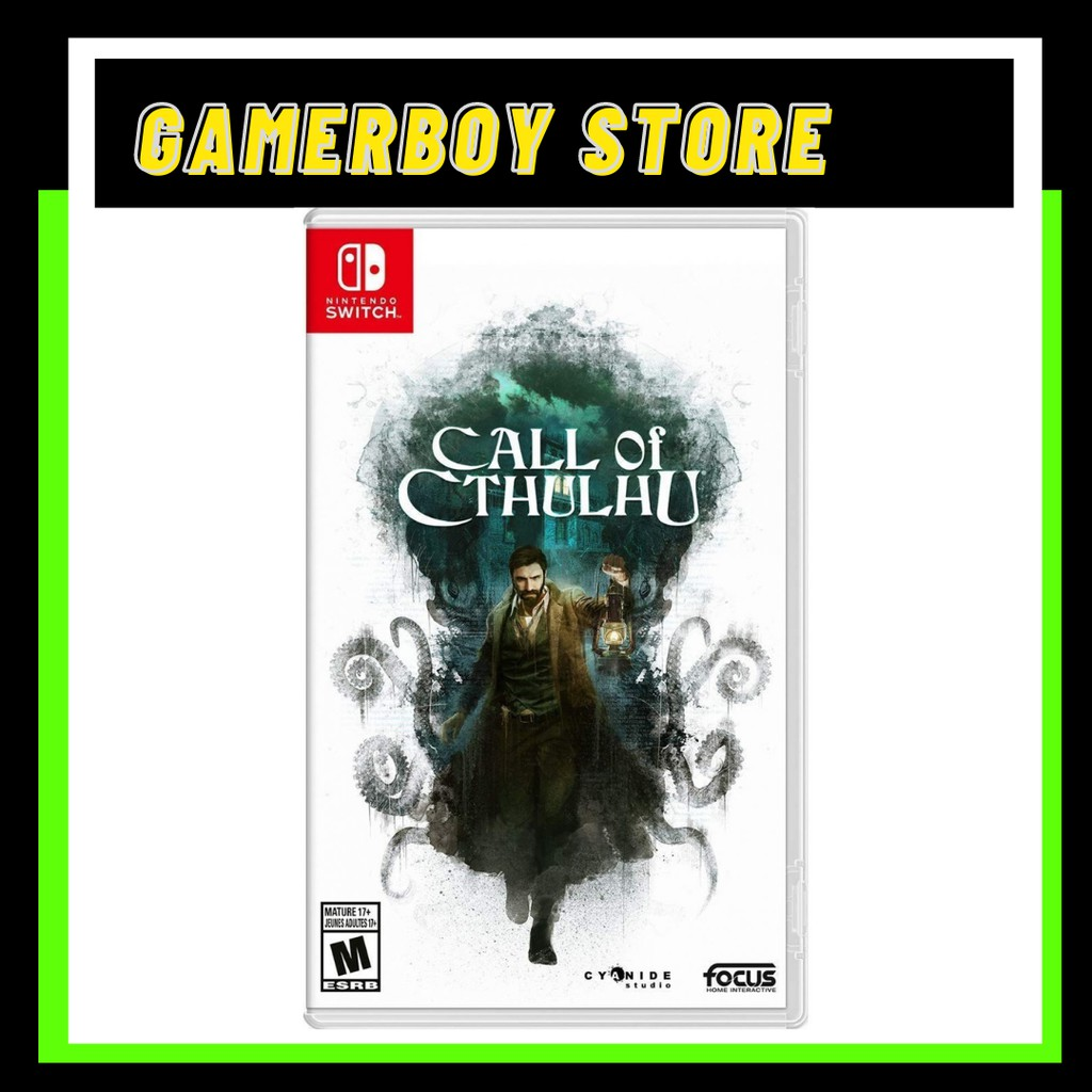 NINTENDO SWITCH CALL OF CTHULHU (PHYSICAL)
