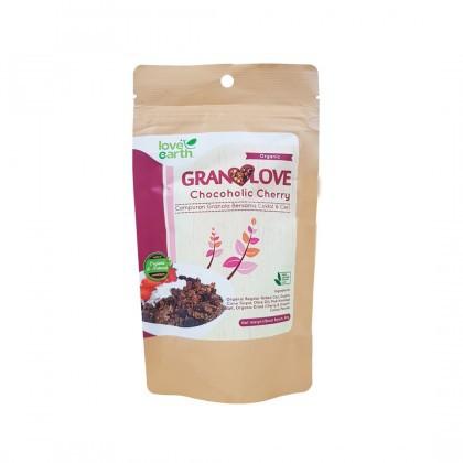Love Earth Chocoholic Cherry Granolove Granolove 巧克力粒樱桃格兰诺拉 80公克 (盒装)
