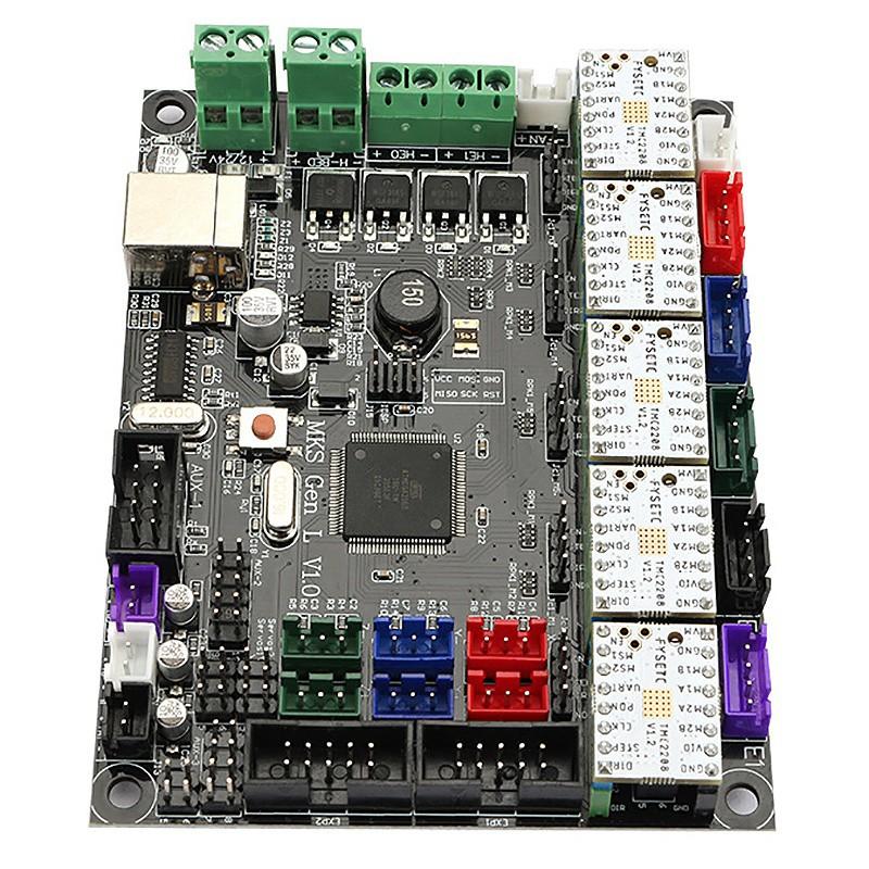 Mks Gen L V1 0 Integrated Controller Mainboard + 5Pcs Tmc2208 Stepper Motor  Driv