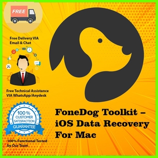 FoneDog Toolkit – iOS Data Recovery 2 For Mac Full Version