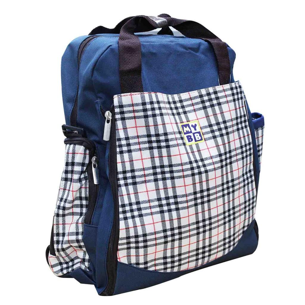 MYBB Papa / Mama Backpack Navy 1117WJBCS06