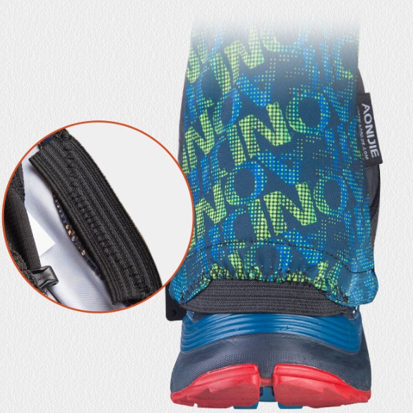 AONIJIE E941 1 Pair 36-43 Size Shoe Covers Climbing Cycling Snow Legging Windproof Sand Prevention Shoe Protector