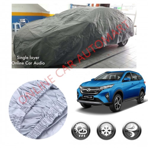 Perodua Aruz -High Quality Universal Fit Single Layer Car Cover Water Repellent
