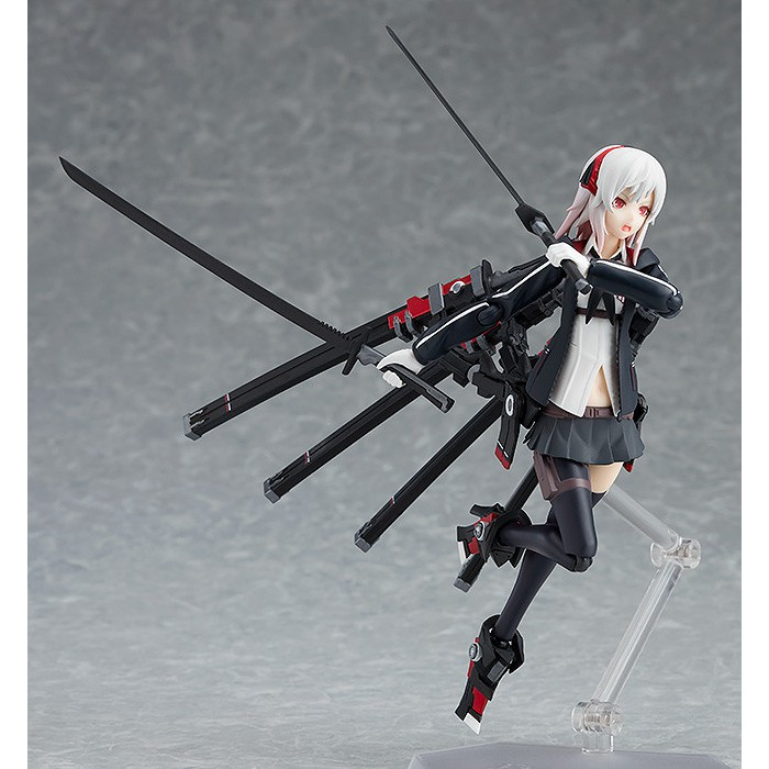 authentic Figma 422 Heavily Armed High School Girls Weapons Shi Max Factory