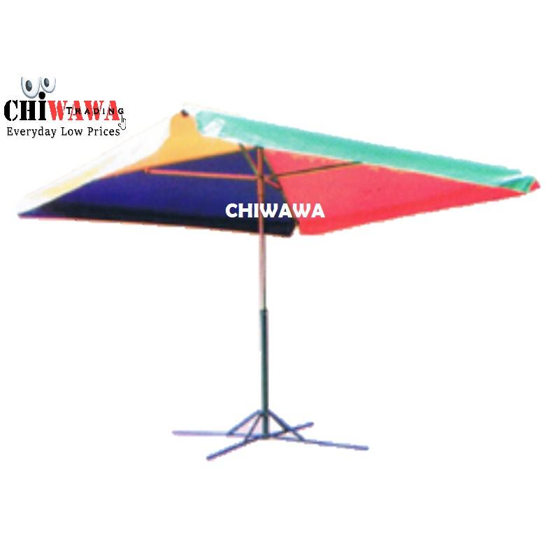 8ft x 8ft Square Umbrella  UV Waterproof Payung Petak Pasar Malam Kanopi Khemah