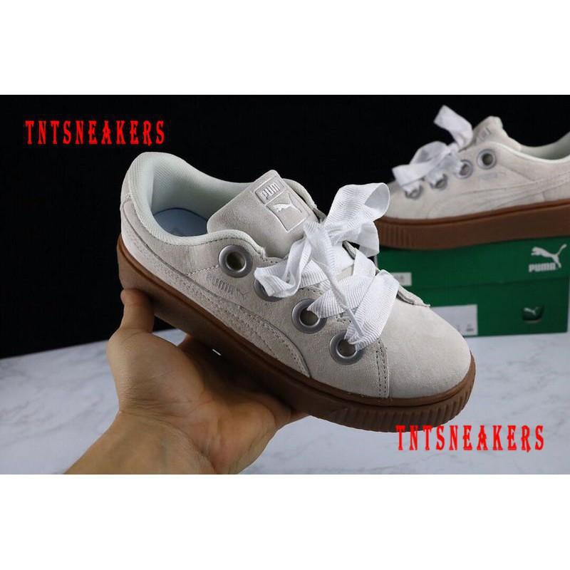 finest selection 108af e5807 PUMA Women X RIHANNA CREEPER Platform Sneakers Shoes 14