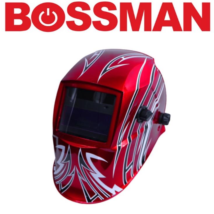 BOSSMAN BWH235H AUTO DARKENING WELDING HELMET HIGH GOOD QUALITY PROFESSIONAL SAFETY 3 MONTHS WARRANTY