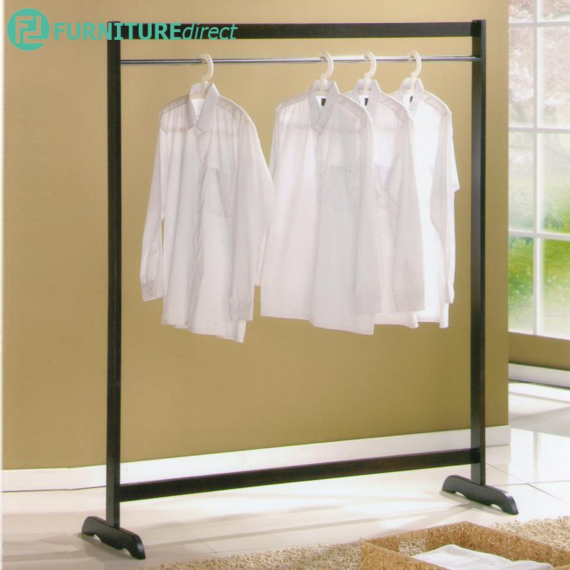 CH1515 solid wooden cloth hanger drying rak/ rak baju kayu/ rak baju