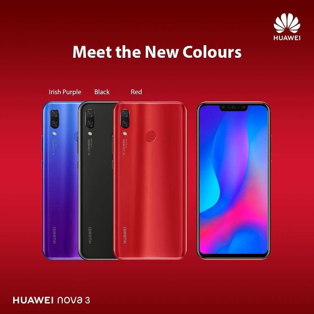 Yc Mobile Gadgets Online Shop Shopee Malaysia Huawei Nova 3i Irish Purple 4gb 128gb Free Bluetooth Earphone