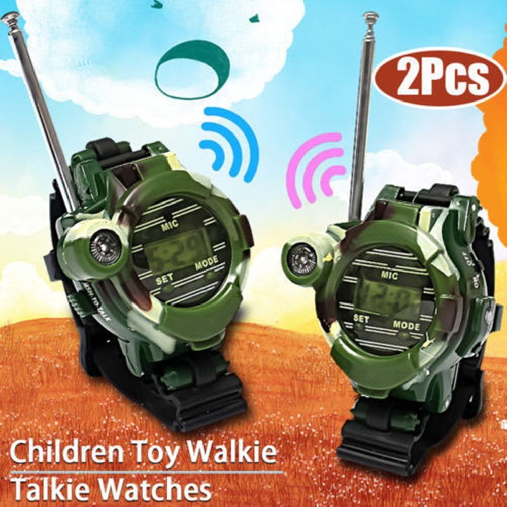 Camouflage Military Parenting Toy Watch Walkie Talkie Intercom Game Toys | Shopee Malaysia