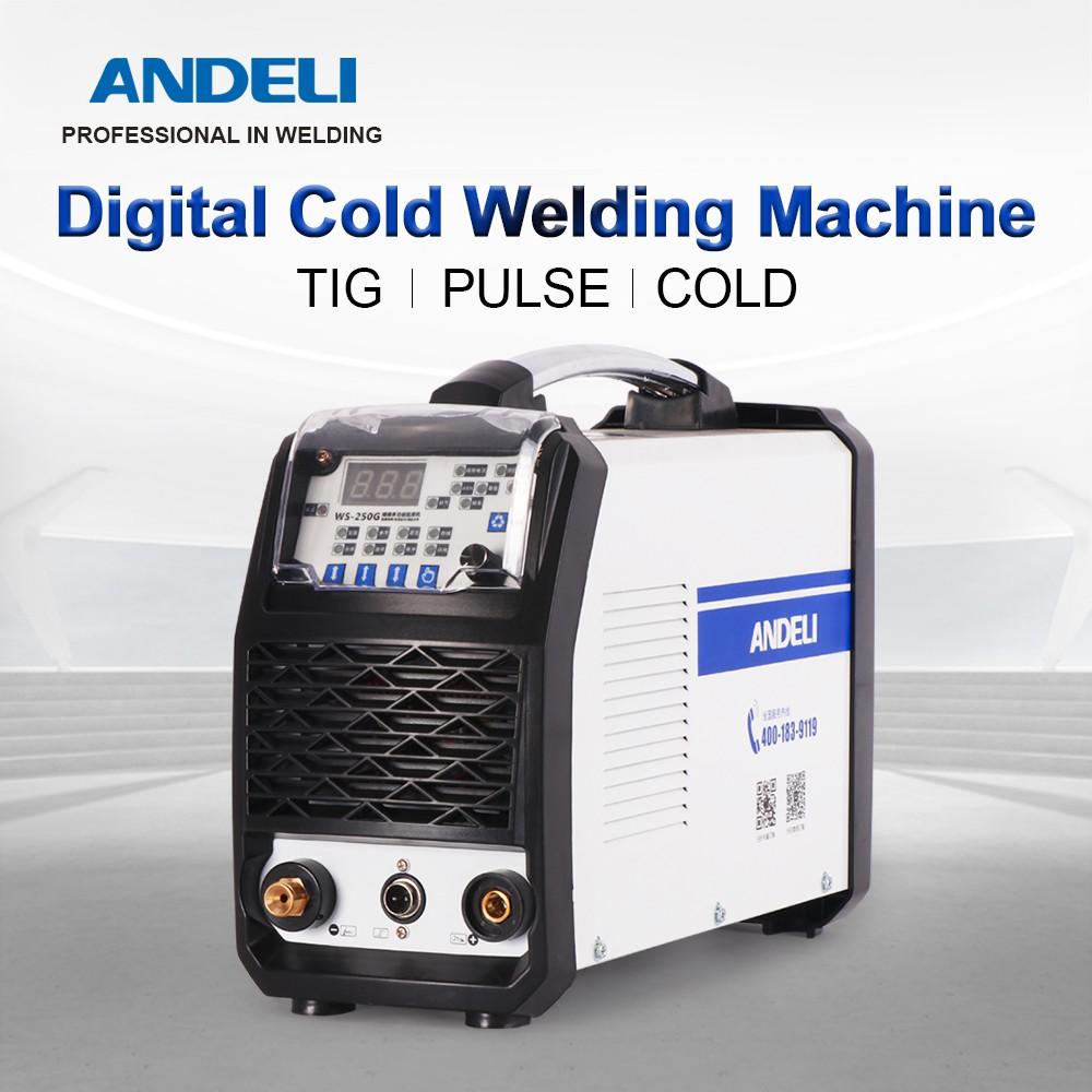 Andeli Smart Portable Single Phase Dc Inverter Pulse Tig 250mpl Spot Welding Tig Welding Machine Intelligent Tig Welder Shopee Malaysia