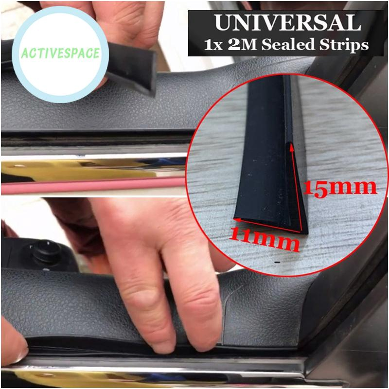 Car Edge Weatherstrip Seal Strip For Plastic Panel Under The Windshield Wiper