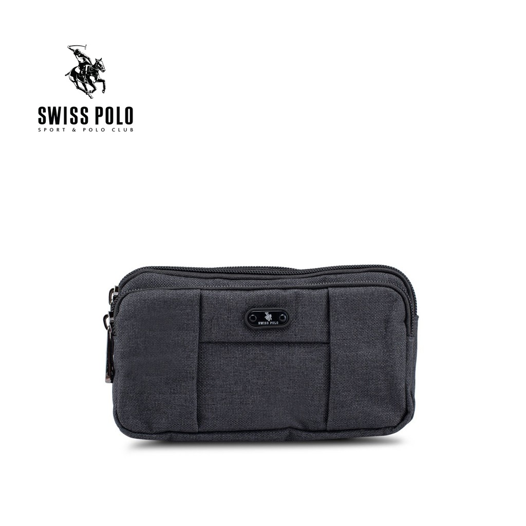 5bda9f4f4f Swiss Polo Sling Bag - Black SVG 9902