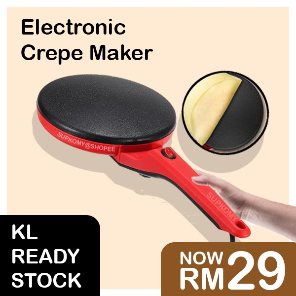 【KL Ready Stock】Electronic Crepe Maker